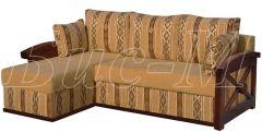 Угловой диван Женева длинный бок Бис-М