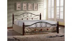 Кровать Hava N 140x200 Onder Metal Малазия