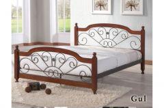 Кровать Gul 140x200 Onder Metal Малазия