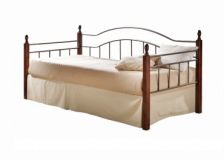 Кровать Nika Day Bed 90/100x200 Onder Metal