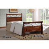Кровать Nina S 90x200 Onder Metal
