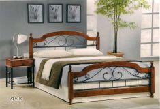 Кровать АТ - 9119 160 х 200 Onder Metal