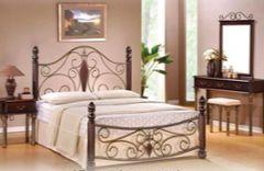 Кровать Vita-05 160х200 Onder Metal Малазия