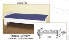 Кровать нижняя №2 Твинс Сокме