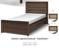 Кровать 1-сп (б/матраса) Палермо (Свiт меблiв)