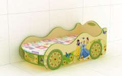 Кровать-машинка Princess KM-420