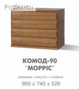 Комод 90 - Морис (Свiт меблiв)