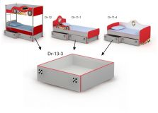 Выдвижная кровать ниша Dr-13-3