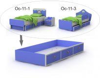 Выдвижная кровать ниша Oc-13-1