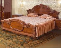 Кровать 2-сп (кальвадос) Спальня Империя (Свiт меблiв)